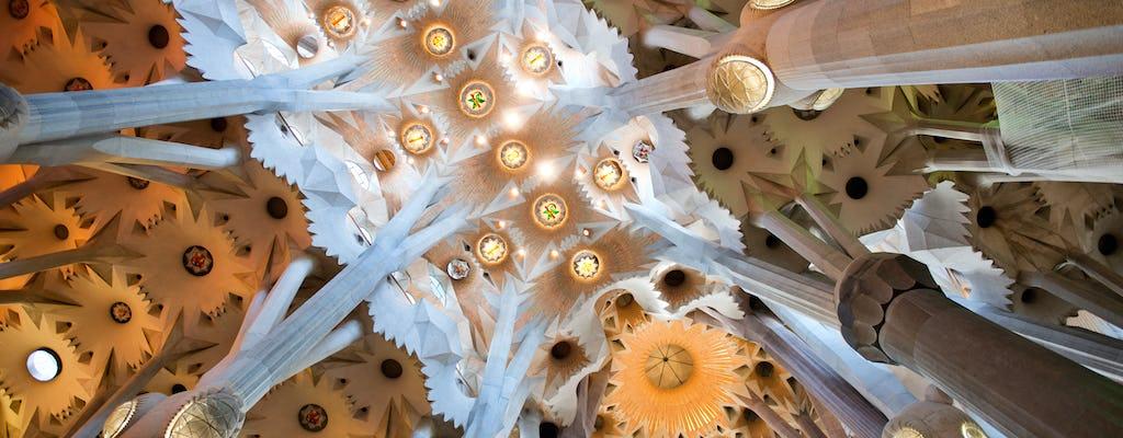 Early entrance tour of the Sagrada Familia