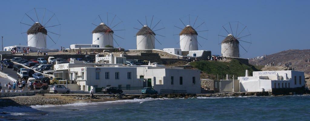 Mykonos Stadt- und Inseltour
