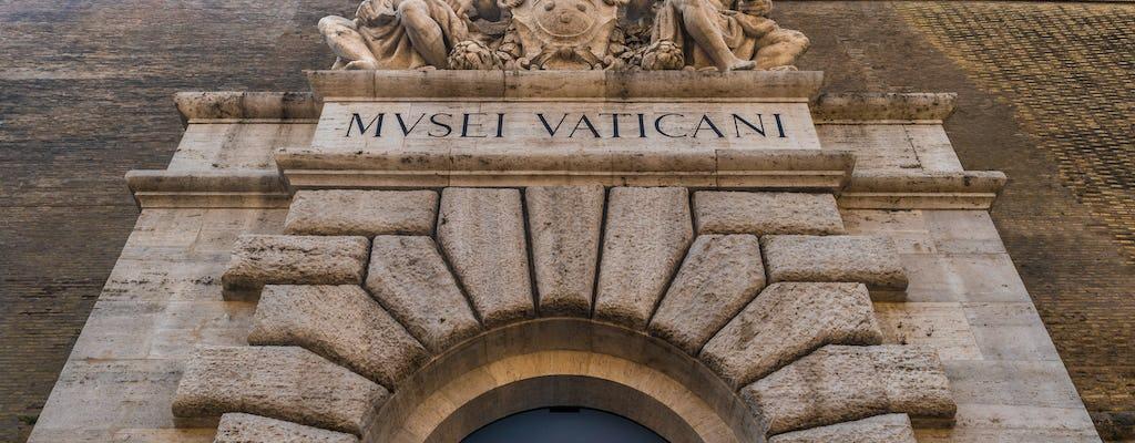 Museus guiados do Vaticano e sala secreta