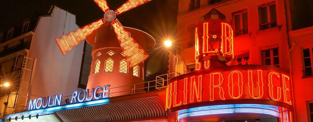 Bilety na pokaz w Moulin Rouge z opcjonalną kolacją