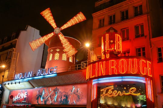 Moulin Rouge show tickets with optional dinner