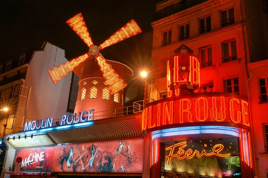 Moulin Rouge Show Tickets mit optionalem Abendessen