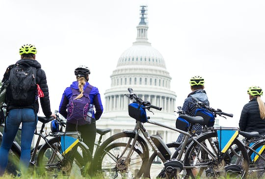 Visite à vélo de DC Capital Sites