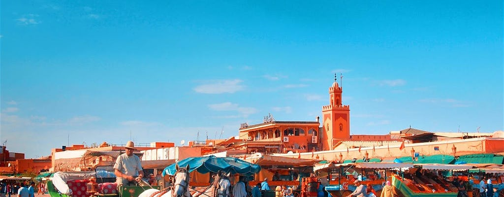 Marrakech premium full-day city tour with a driver