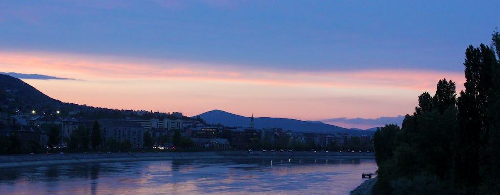 Visite à pied en soirée à Budapest