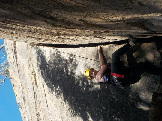 Full-day rock climbing adventure at Blue Mountains
