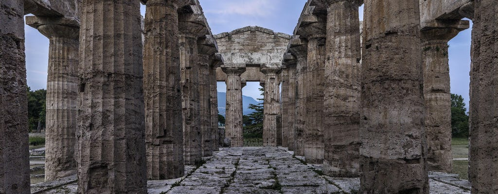 Visita guiada del área arqueológica de Paestum