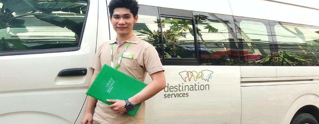 Prywatny transfer z lotniska Bangkok Suvarnabhumi do hotelu miejskiego bez przewodnika