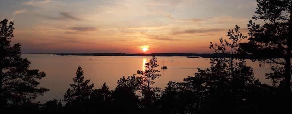Sol de medianoche en el archipiélago