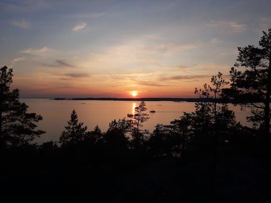 Midnight sun in the archipelago