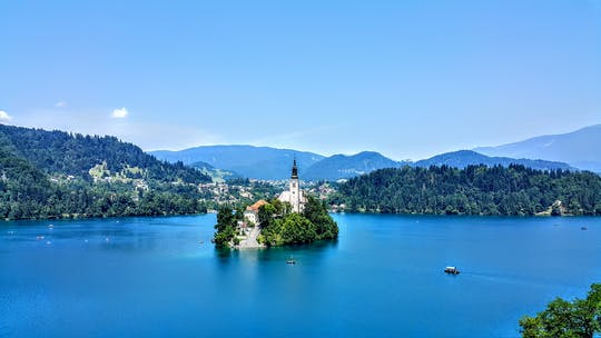 Tour to lake Bled and to Ljubljana from Koper