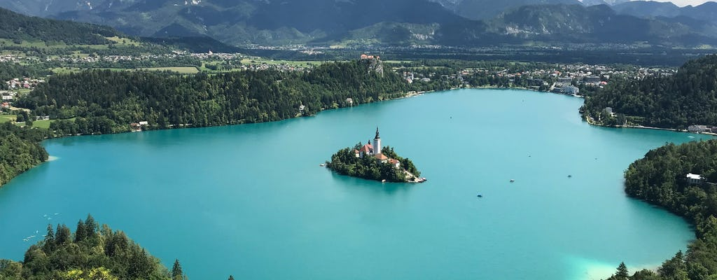 Gita al lago di Bled e a Lubiana da Trieste