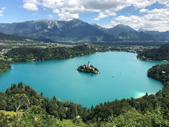 Tour to lake Bled and to Ljubljana from Trieste