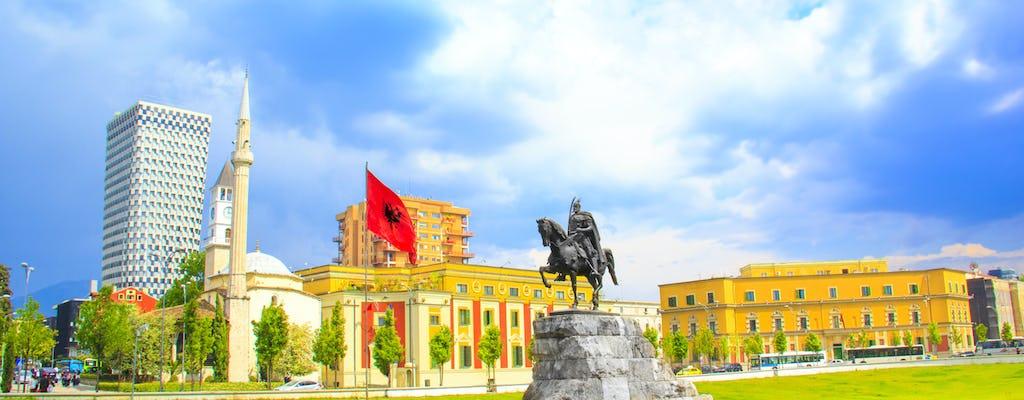 Excursão a pé em Tirana