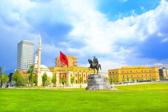 Tirana sightseeing-wandeltocht