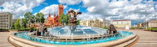 Excursão a pé soviética em Minsk