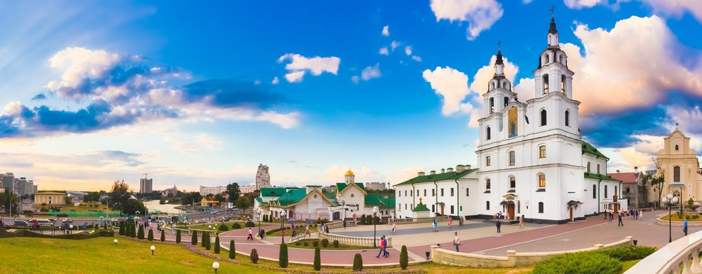 Visite à pied du meilleur de Minsk