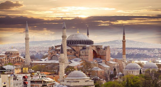 Skip-the-line Hagia Sophia and Grand Bazaar tour