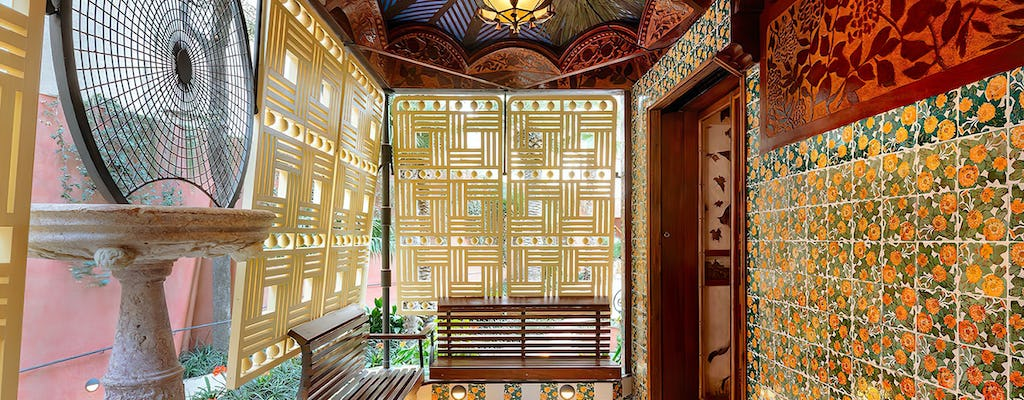 Open Date Ticket für Casa Vicens
