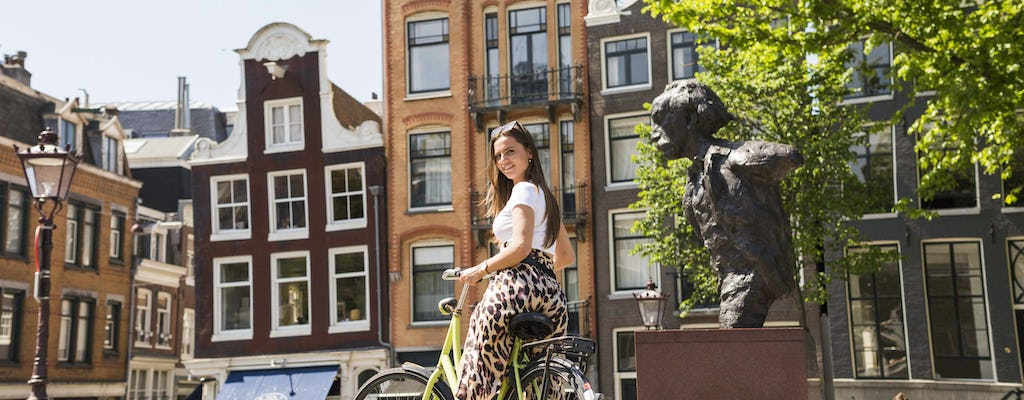 Private small-group Anne Frank bike tour