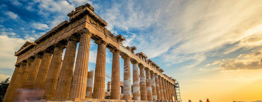 Bilhetes eletrônicos para as principais atrações da Atenas antiga com tours em áudio