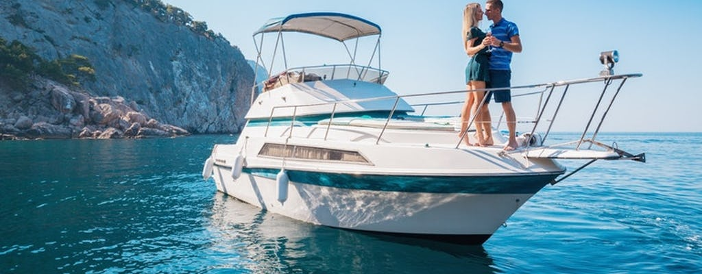 Private yacht tour from Antalya