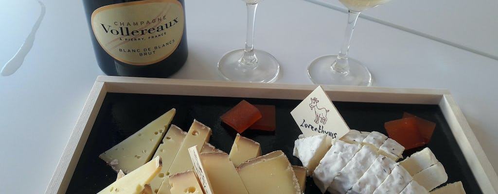 Guided Tour of the Vollereaux Champagne Cellar with Champagne & Cheese Tasting