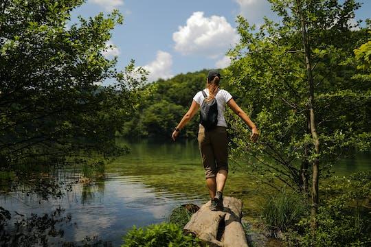 Tour di un'intera giornata al Parco Nazionale di Plitvice da Zara