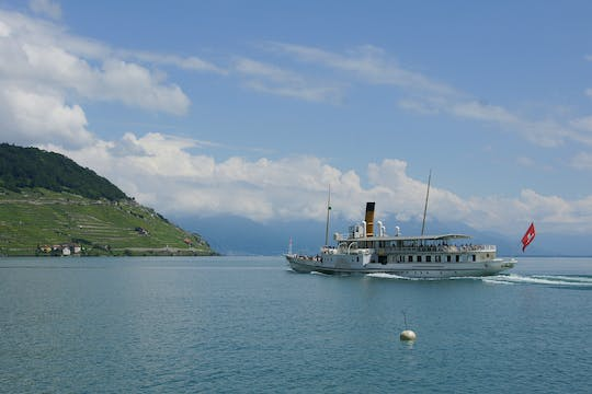 Discover the Lavaux vineyards and the Montreux-Vevey Region from Lausanne