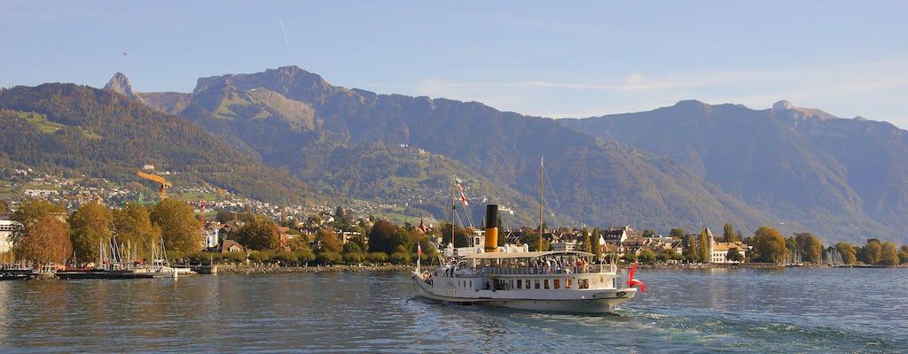 Cruzeiro no Lago de Genebra pela Riviera de Montreux