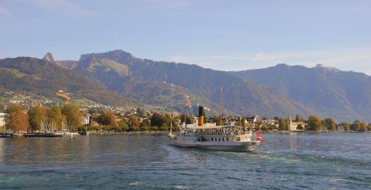 Crociera sulla Riviera del Lago di Ginevra da Montreux