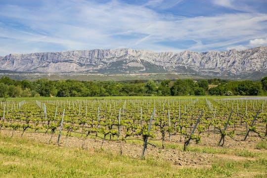 Coteaux d'Aix and Sainte-Victoire full-day private wine tour