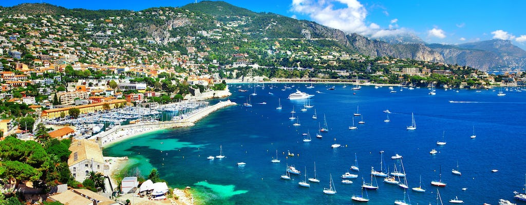 Day tour of the best of French Riviera from Aix en Provence