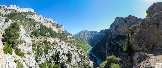 One day tour in Verdon Canyon and Moustiers Sainte Marie from Aix en Provence
