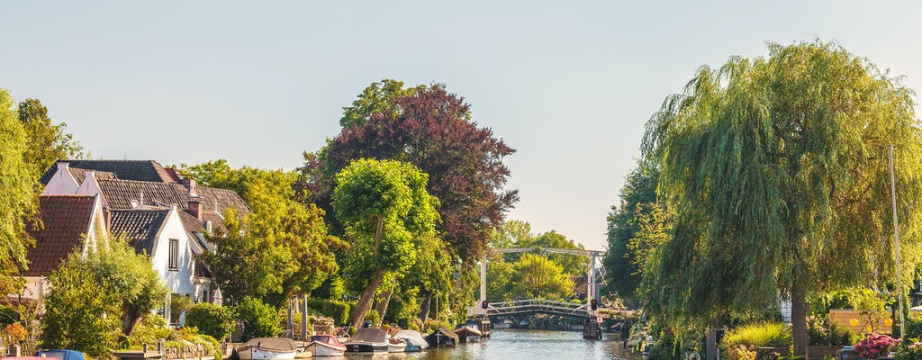 Private afternoon High tea cruise on Vecht river from Amsterdam