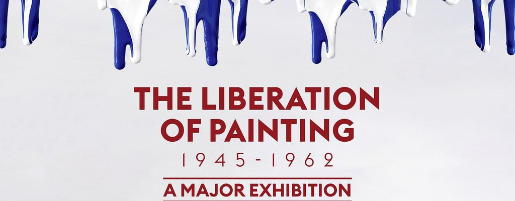 Entrance Ticket to the exhibition the Liberation of Painting 1945-1962