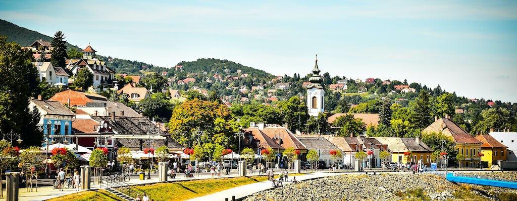 Szentendre artist's village half-day boat tour from Budapest