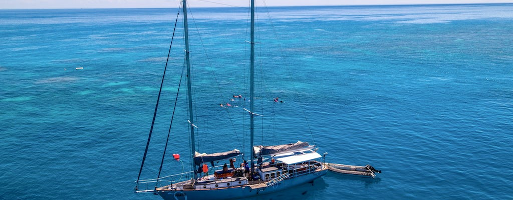 Personal sail, tropical island, and  snorkel in the Great Barrier Reef