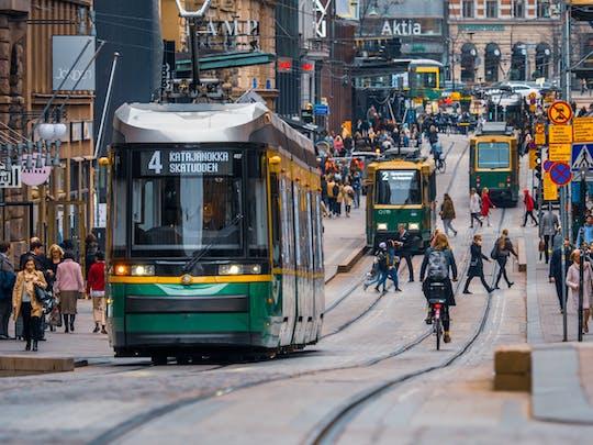 Tram tour of Helsinki