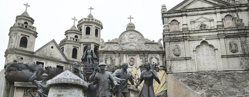 Visite d'une demi-journée de la ville de Cebu avec le jardin de Sirao et le temple de Leah