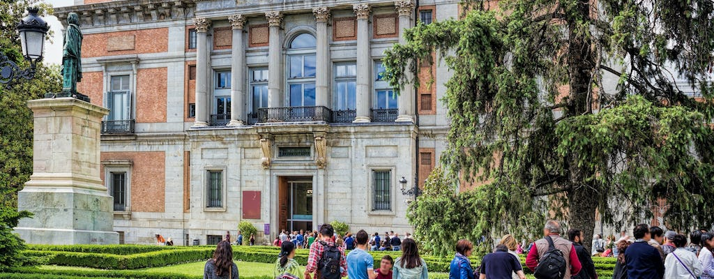 Exterior guided visit and tickets to the Prado Museum