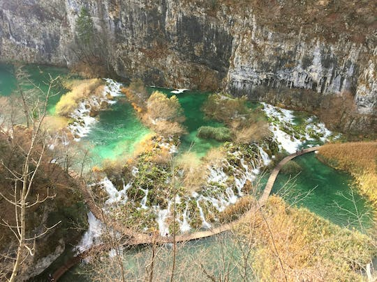 Private excursion to Plitvice lakes national park from Pula