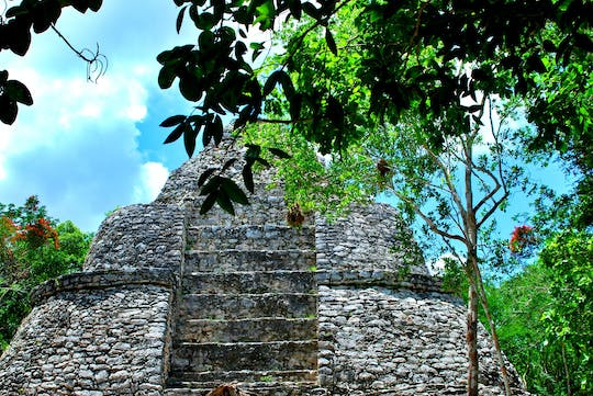 Mayan inland expedition with Coba and Punta Laguna