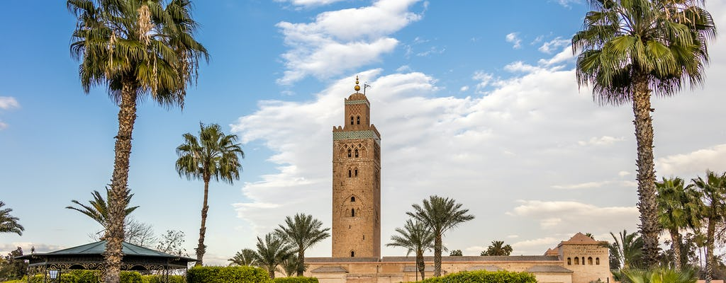 Highlights of Marrakech From Casablanca