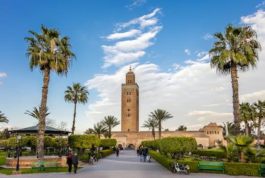 Hoogtepunten van Marrakech vanuit Casablanca