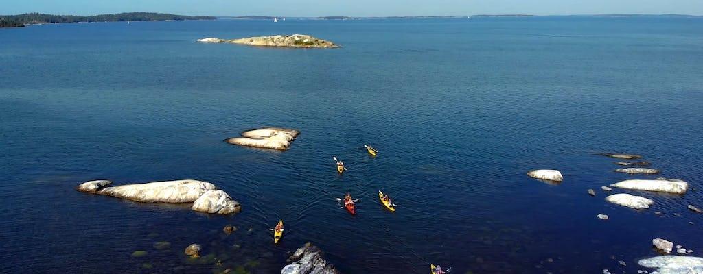 Excursión en kayak de todo el día al archipiélago de Estocolmo