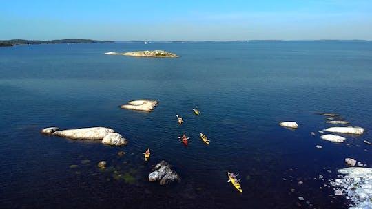 Full-day kayaking tour of Stockholm archipelago