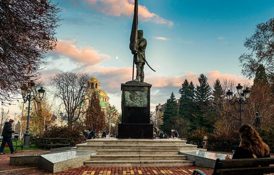 Excursão a pé privada de Sofia comunista