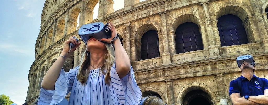 Live Ancient Rome walking tour with virtual reality