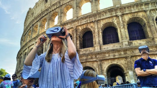 Live Ancient Rome-wandeling met virtual reality